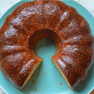 Rum Cake.