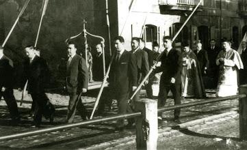 Photo: Arraunlariak prozesioan