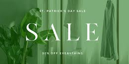 St. Patrick's Day Sale - St. Patrick's Day item