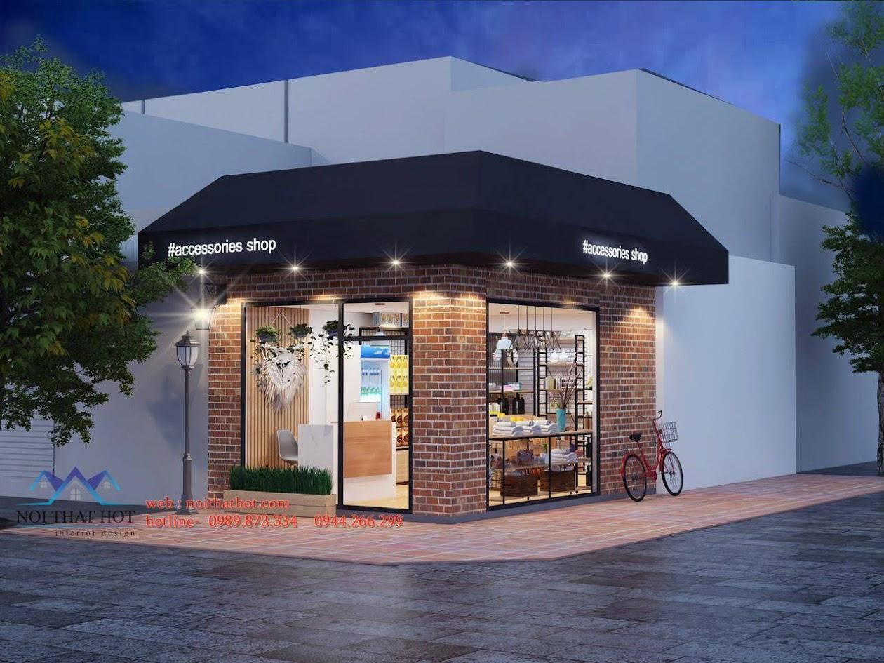thiết kế cửa hàng tiện ích 1