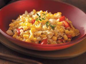 Corn And Pepper Orzo Recipe