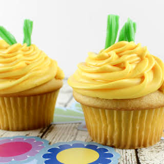 Pineapple Cupcakes.