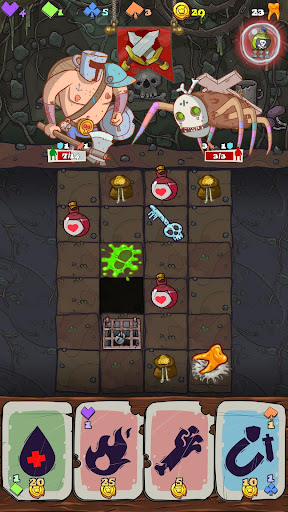 Dungeon Faster Prototyp  captures d'u00e9cran 2