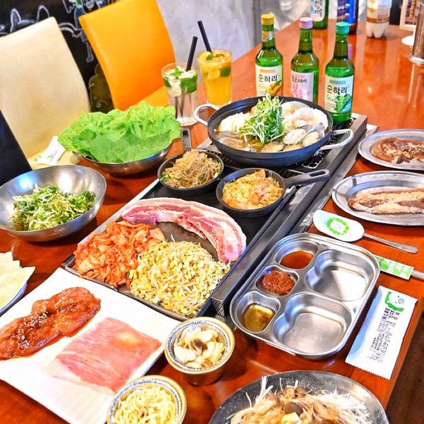 不可不吃的日韓燒肉【菜豚屋 VEGETE JIYA】自家栽種生菜吃到飽