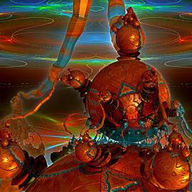 The Tasks Before Me by Rick Eskridge - Illustration Sci Fi & Fantasy ( fantasy, jwildfire, mb3d, fractal, twisted brush )