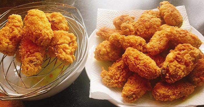 Công thức gà chiên KFC giòn rụm, ngọt thịt không hề bị khô