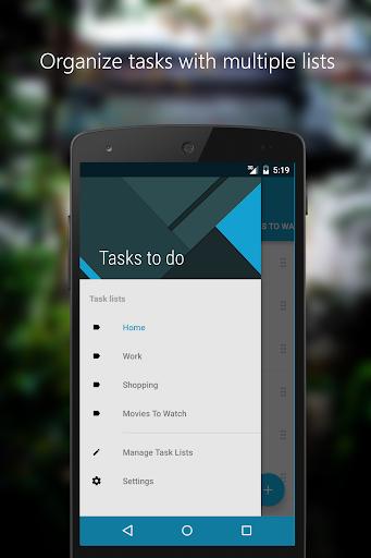 tasks to do : to-do list screenshot 2
