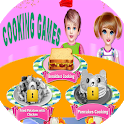 cooking breakfast pan cakes  games icon
