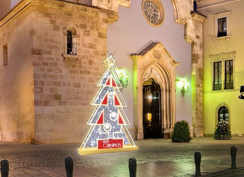 Almería en Navidad: así es la iluminación para estas fiestas