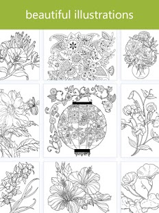 Download Colorfeel Flower Coloring Book For PC Windows And Mac Apk Screenshot 7