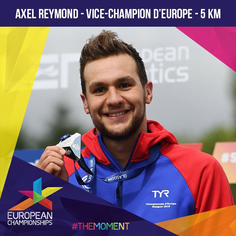 Vice-Champion d'Europe du 5 km