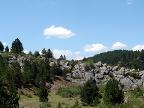 Photo: Rugged terrain on a beautiful day