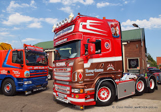 Photo: Ceusters meets Verweij... Nog Harder Lopik 2013 (NL). Click for more photos: www.truck-pics.eu