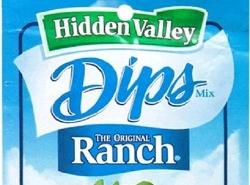 Be sure to use Hidden Valley DIP mix, Ranch flavor.Stir dip mix into the...