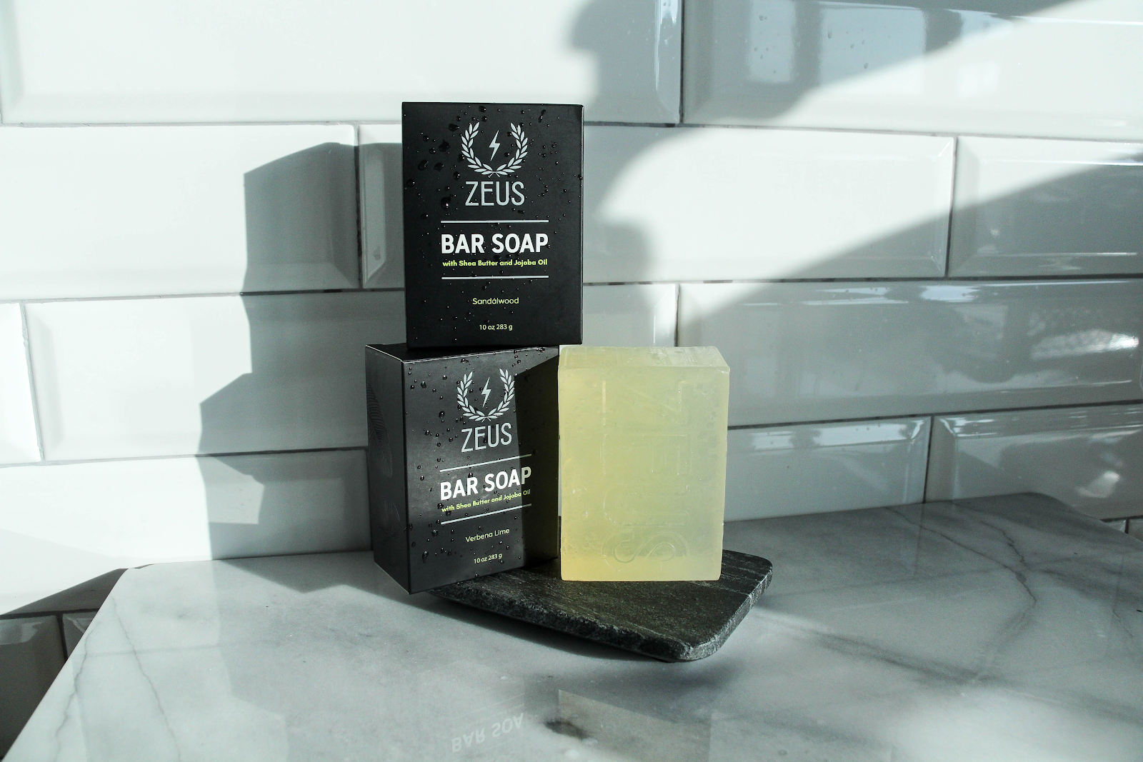 Zeus Beard bar soap