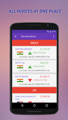 Indian Stock Market Quotes - Live Share Prices  screenshots 16