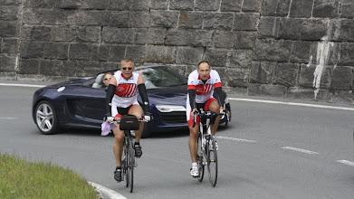 Photo: Selbst der Audi kam nicht vorbei.