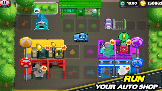 Tiny Auto Shop Car Wash and Garage Game 1.3.7 MOD (Unlimited Money) 1