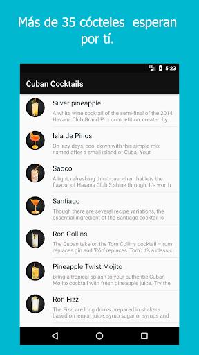 Cu00f3cteles de Cuba Nueva Vida screenshots 1