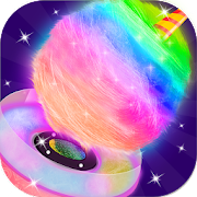 Glowing Cotton Candy Maker - Sweet Shop!
