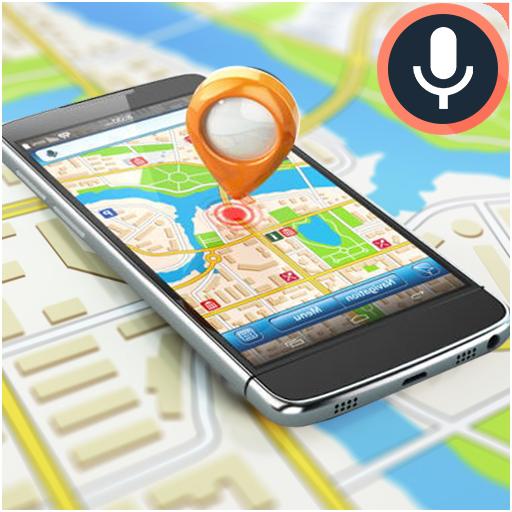 GPS Place Finder & Voice Navigation Maps