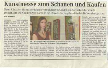 Photo: erschienen in MZ Naumburg, vom 25.08.2010