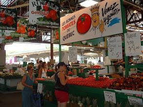 Photo: De visita en el mercado de frutas y vegetales de Jean Talon