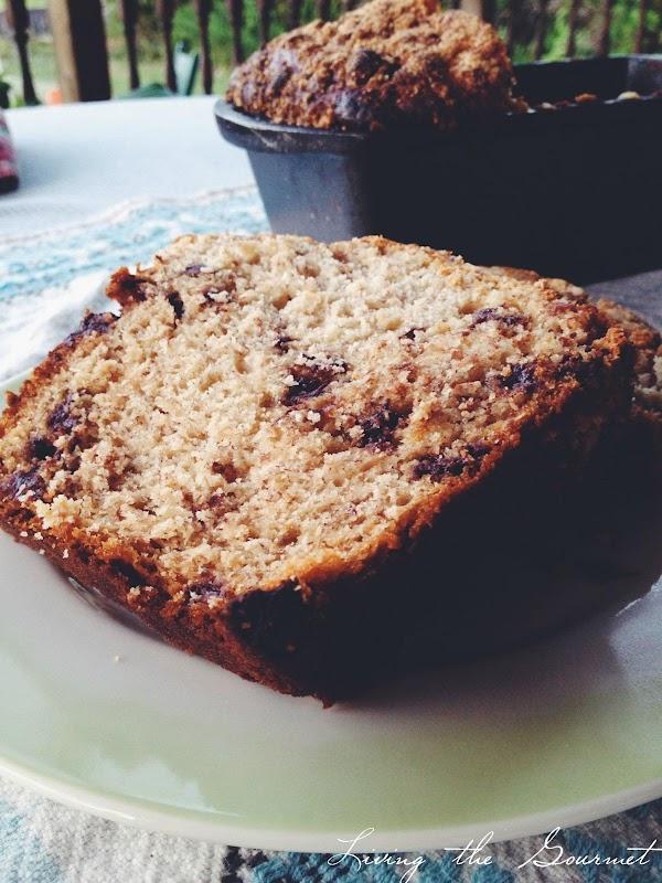 Chocolate Chip Banana Loaf Recipe