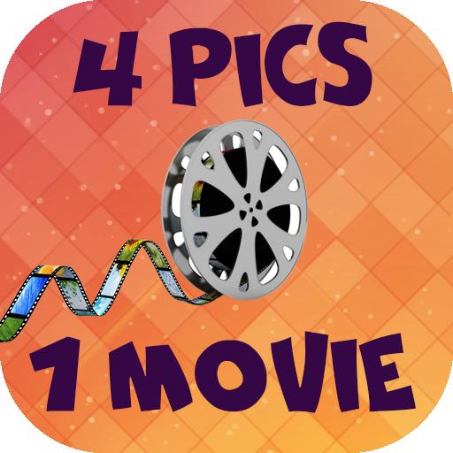 4 pics 1 word: Movies 拼字 App LOGO-硬是要APP