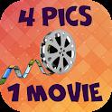 4 pics 1 word: Movies icon