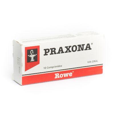 Carisoprodol + Dipirona + Salicilamida + Almidón Maíz Praxona 450Mg  x 10 Comprimidos Rowe