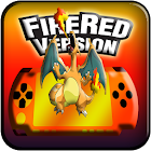 Pokemoon fire red version - Free GBA Classic Game icon