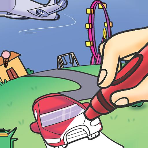 colorfun - coloring book for kids