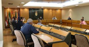 Reunión con los presidentes de las Juntas Locales.