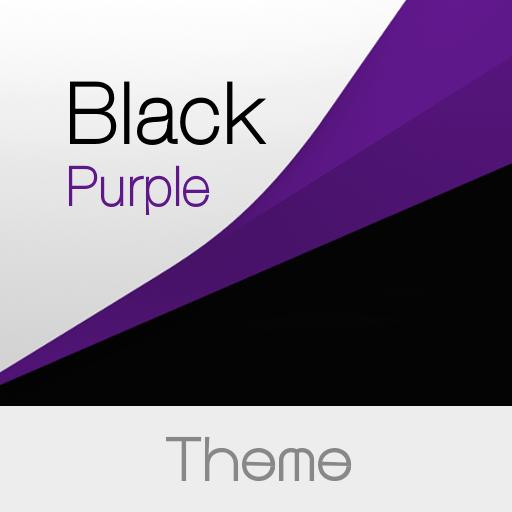 Black Purple Premium Theme