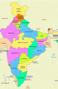 India Map Capitals Android Apps On Google Play - India map