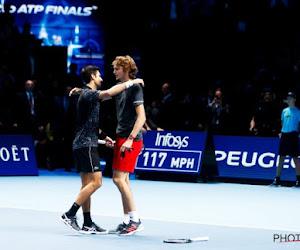 Master-winnaar Alexander Zverev blijft nuchter na lovende woorden van Novak Djokovic
