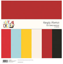 Simple Stories Basics Double-Sided Paper Pack 12X12 6/Pkg - Say Cheese 4 UTGÅEND