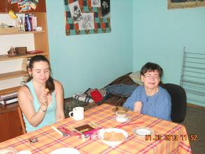 Photo: 01 V 2013 roku - pijemy kawę z Tereską  ( Joli siostrzenica )