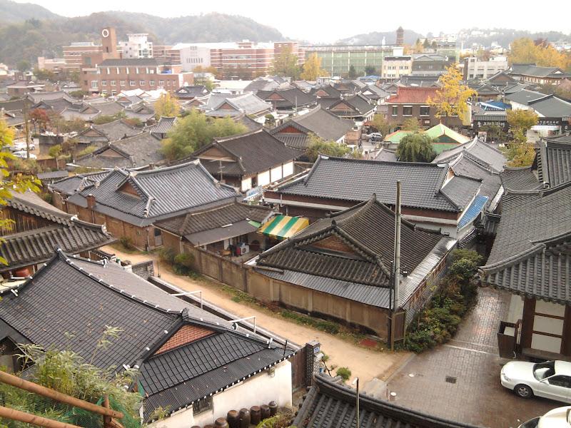 Photo: Jeonju Hanok kaimas