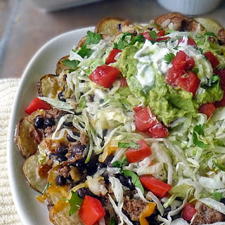 Mexican Potato Nachos