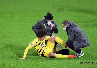 📷  Spelers Borussia Dortmund steunen Axel Witsel met mooi initiatief