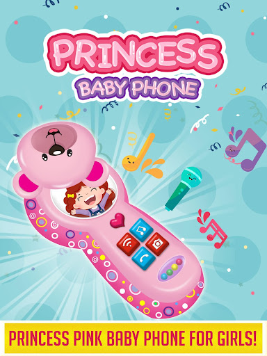 Princess Baby Phone - Kids & Toddlers Play Phone android2mod screenshots 1
