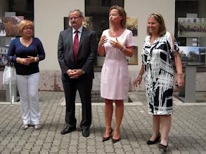 Photo: Jobb oldalon Soňa Jelínková, a Szlovák Idegenforgalmi Hivatal képviseletvezetője