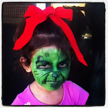 Photo: The Grinch face painting by Raelynn, Azusa, Ca. Call to book her today! 888-750-7024