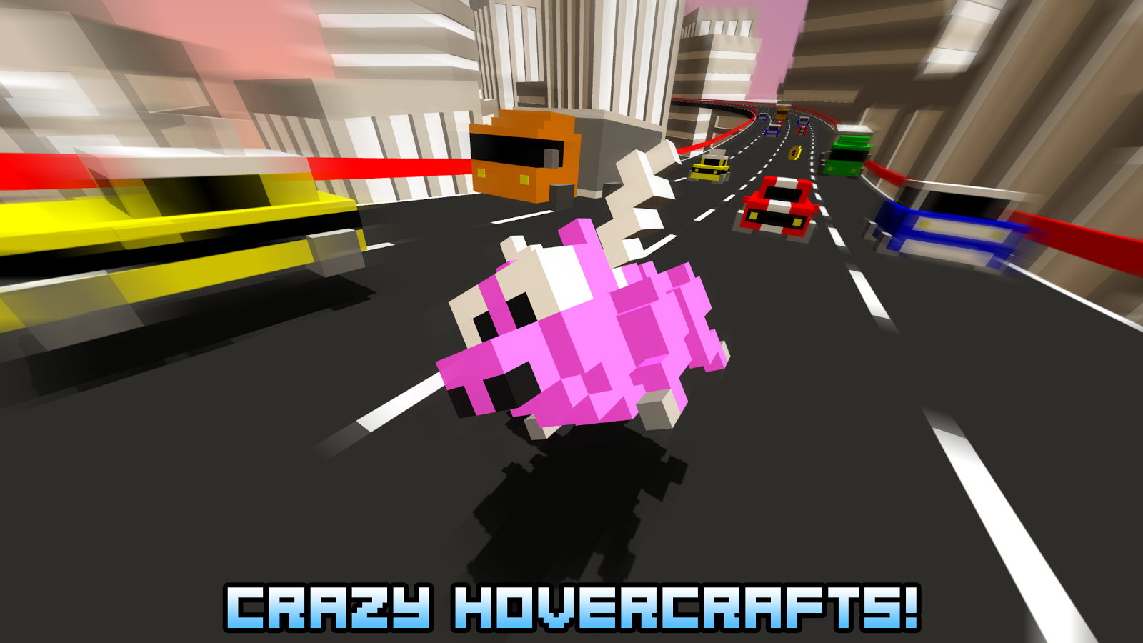 Hovercraft - Build Fly Retry- screenshot