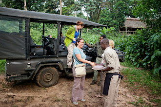 Photo: Arriving at Ngaga camp - http://www.go2africa.com/accommodation/10016?utm_source=GooglePlus&utm_medium=Social&utm_campaign=Congo