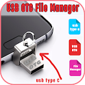 usb otg file manager icon