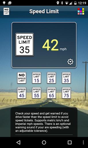 Speed Limit Free screenshot 3