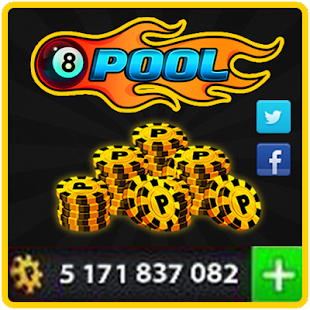 Coins For 8 Ball Pool Prank Screenshot